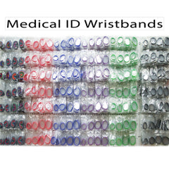 Medical ID Bracelet Display Wall