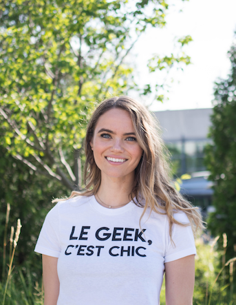 NIU BODY #HERHUSTLE Interview with La Petite Écolière Founder Roberta Lindal