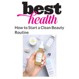 NIU BODY 100% Natural and Vegan Skincare Best Health Magazine Clean Beauty