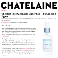 chatelaine magazine niu body cleansing oil