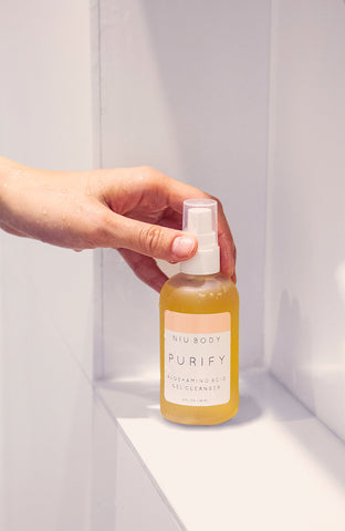 niu body purify gel cleanser