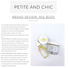 petite and chic niu body review