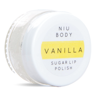 NIU BODY Natural Skincare Holiday 2018 Gift Guide Vanilla Lip Polish
