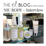 NIU BODY Natural and Vegan Skincare Founder Interview Connie Lo Laura Burget Tara Leydon