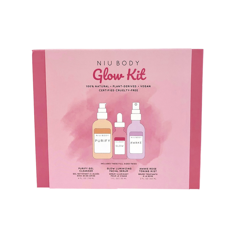 Glow Skin Kit KITS - NIU BODY NATURAL SKINCARE BEAUTY PRODUCTS ORGANIC