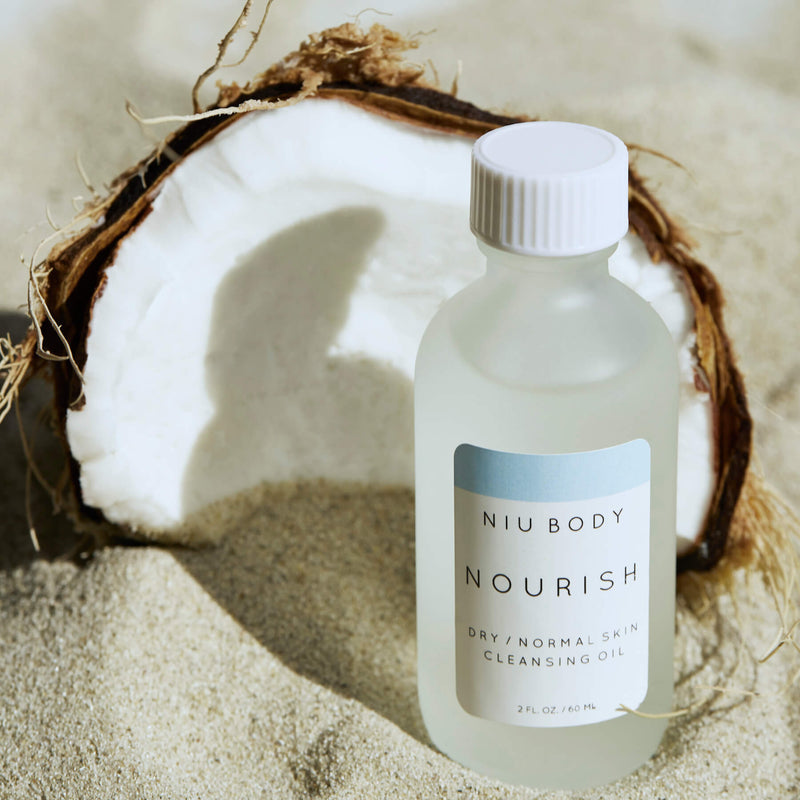 Nourish Cleansing Oil CLEANSERS - NIU BODY NATURAL SKINCARE BEAUTY PRODUCTS ORGANIC