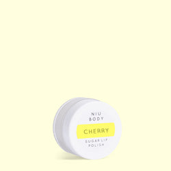 Cherry Sugar Lip Polish LIP POLISHES - NIU BODY NATURAL SKINCARE BEAUTY PRODUCTS ORGANIC