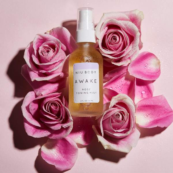 Awake Rose Toning Mist TONING MISTS - NIU BODY NATURAL SKINCARE BEAUTY PRODUCTS ORGANIC
