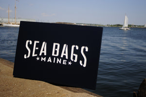 Carved Sign Sea Bags