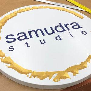 Custom Carved Sign - Samdura