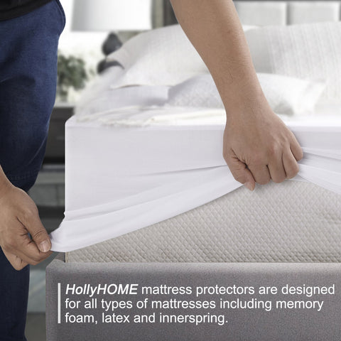 HollyHOME waterproof mattress protector