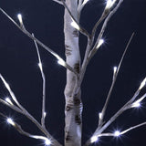 48 LED Birch Tree Light, 4FT White Light Christmas Tree Light for Indoor Outdoor Use, Artificial Tree Light for Wedding and Party Decoration
