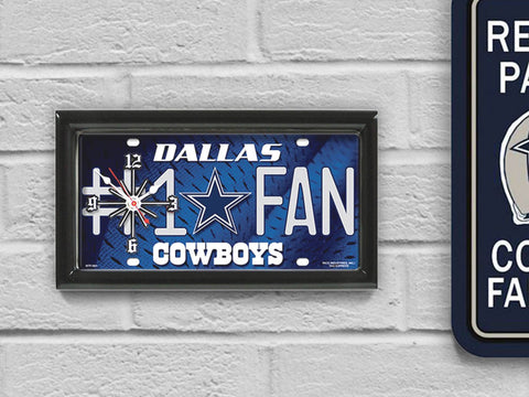Dallas Cowboys Limited Edition #1 Fan Clock