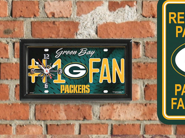 Green Bay Packers Limited Edition #1 Fan Clock