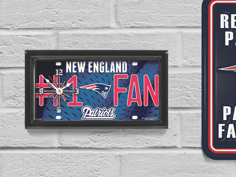 New England Patriots Limited Edition #1 Fan Clock