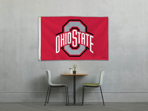 Ohio State Buckeyes Team Flag