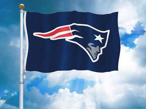 New England Patriots Team Flag
