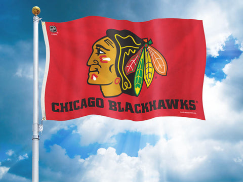 Chicago Blackhawks Team Flag
