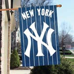 NEW YORK YANKEES  APPLIQUÉ BANNER FLAG