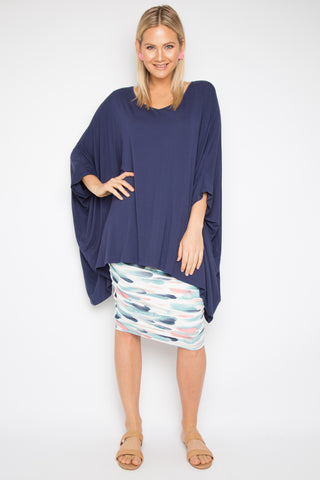 The Essential Top in Navy (bamboo)