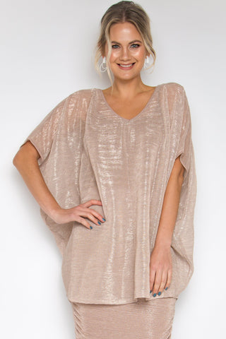 d96bb9158f3c2 Hi Low Miracle Top in Mauve Mist (with bamboo slip top)