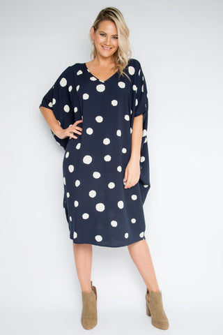 Woven Miracle Dress in Sugar Spot