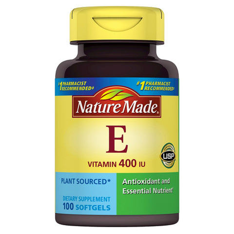 Nature Made Vitamin E, 400 IU, 100ct 031604012243T959