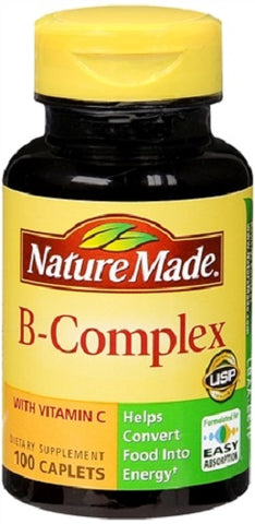 Nature Made B-Complex with Vitamin C, 100ct 031604013387S519