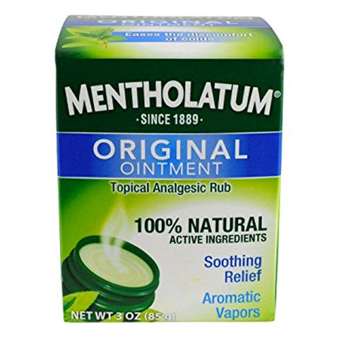 Mentholatum Ointment/Topical Rub, 3oz 310742000269A401