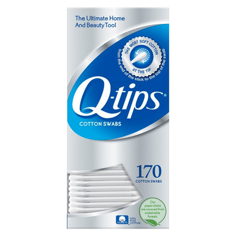 Q-Tips Cotton Swabs, 170ct 305215070009A235