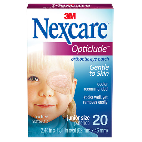 Nexcare Opticlude Orthoptic Eye Patches Jr Size, 20ct 051131000223T454