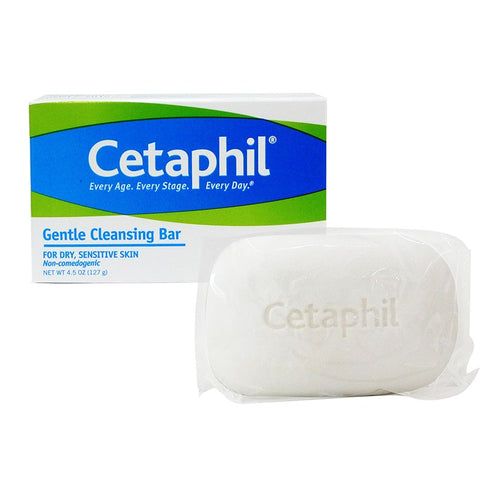Cetaphil Gentle Cleansing Soap Bar, 4.5oz 302993923046G339