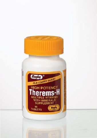 Rugby Therems-H Tablets, 90ct 305364667112S432