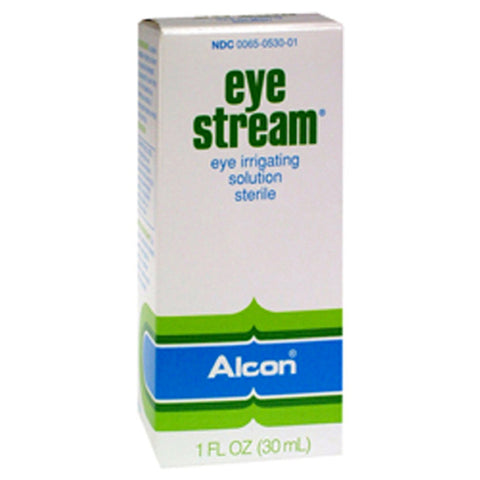 Alcon Eye Stream Eye Irrigating Solution, Sterile, 1oz 300650530019T1830