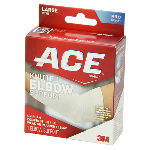 Ace Knitted Elbow Support, Large, 1ct 051131203952A534