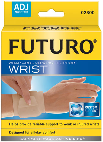 Futuro Wrap Around Wrist Support, Adjust to Fit, 1ct 051131200913A330
