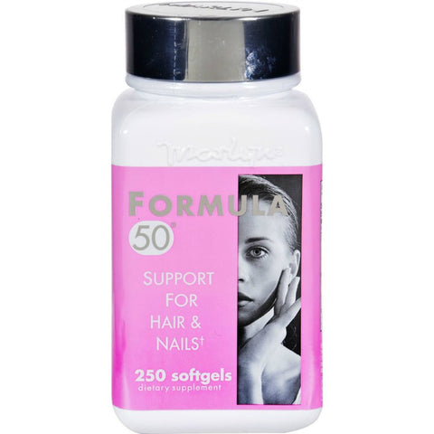 Marlyn Formula 50 Support Hair & Nails Softgels, 250ct 032115602503A2137