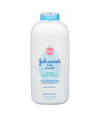 Johnsons Baby Powder, Soothing Aloe & Vitamin E, 22oz 381370030591A456