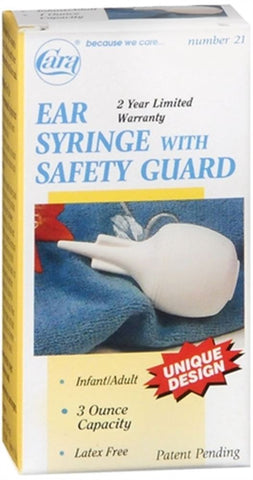 Cara Ear Syringe With Safety Guard, 3 oz Capacity, 1ct 038056000217T241