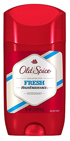 Old Spice Fresh, High Endurance Stick, 2.25oz 012044342503S171