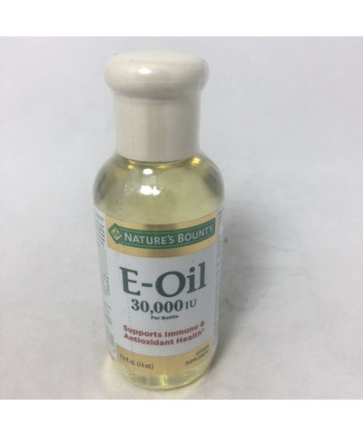 Nature's Bounty Vitamin E-Oil, 30,000 IU, 2.5oz 074312008108T542