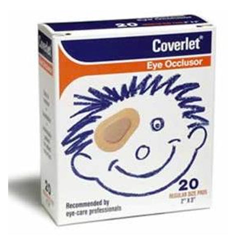 Coverlet Eye Occlusor Junior Size Bandages, 20ct 035664002688T438