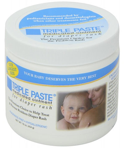 Triple Paste Medicated Ointment for Diaper Rash, 16oz 794731020023T2084