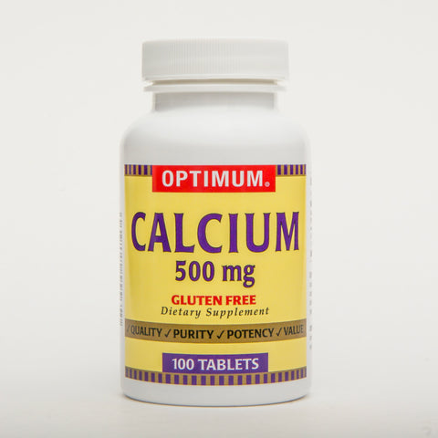 Optimum Calcium 500mg, Tablets, 100ct 043292555650S214