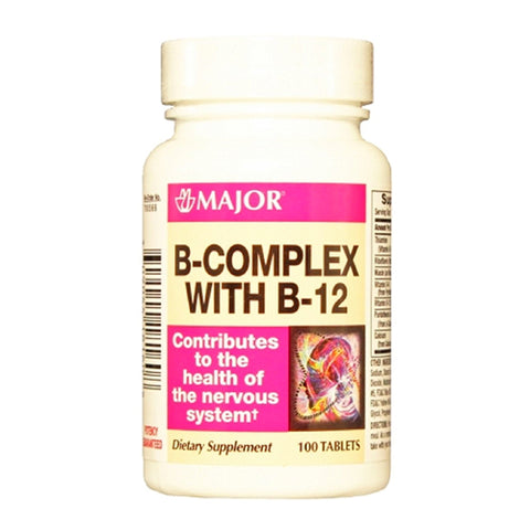 Major B-Complex with B-12, 100ct 309044181608S176