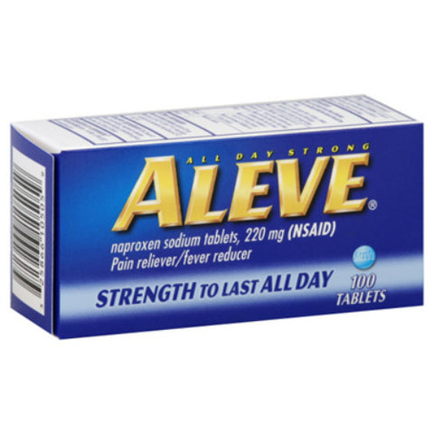 Aleve All Day Strong Pain Relief Tablet, 100ct 325866105059S908