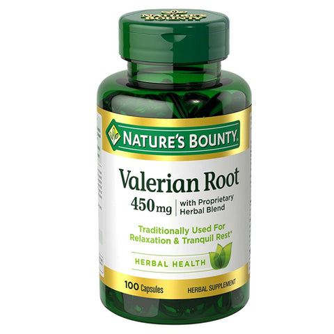Nature's Bounty Valerian Root w/Passion Flower, 100ct 074312333903T377