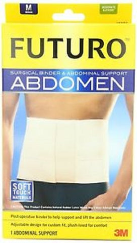 Futuro Surgical Binder & Abdominal Support, Med., 1ct 051131200937A1694