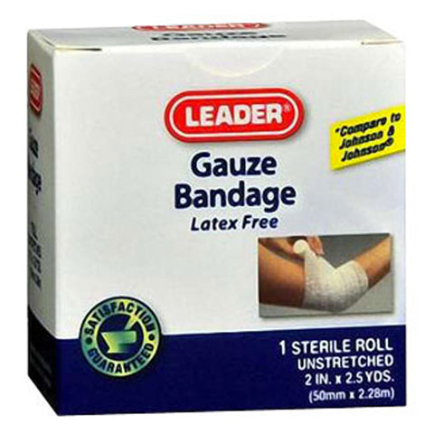 Leader Sterile Gauze Pads, 2 X 2inch, 25ct 096295102864A221
