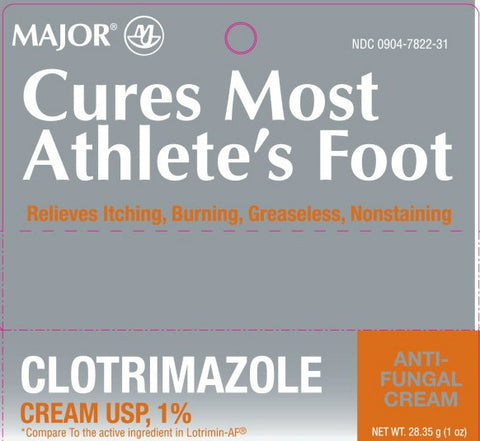 Major Clotrimazole Cream USP, 1%, 1oz 009047822316A172